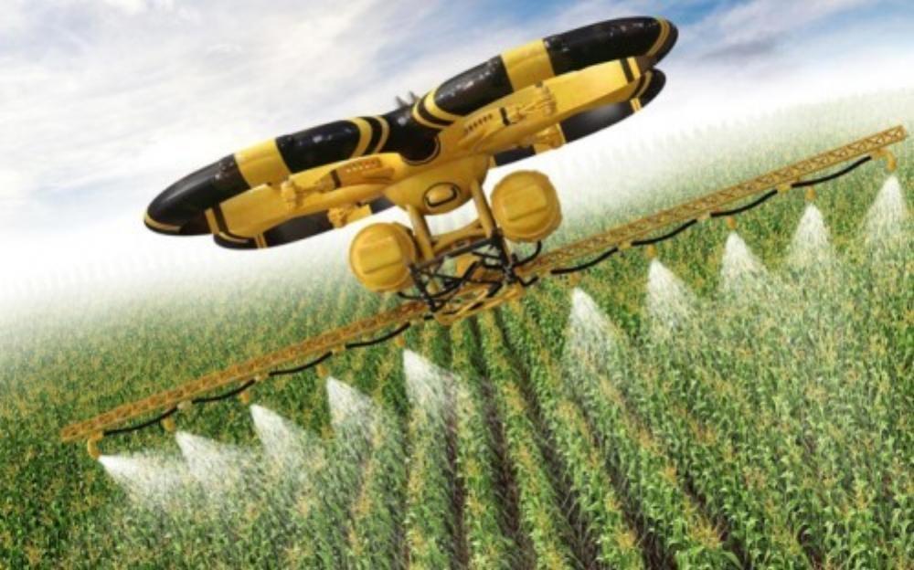 Công nghệ tưới tiêu hiện đại trong nông nghiệp (Ảnh: CNBC)