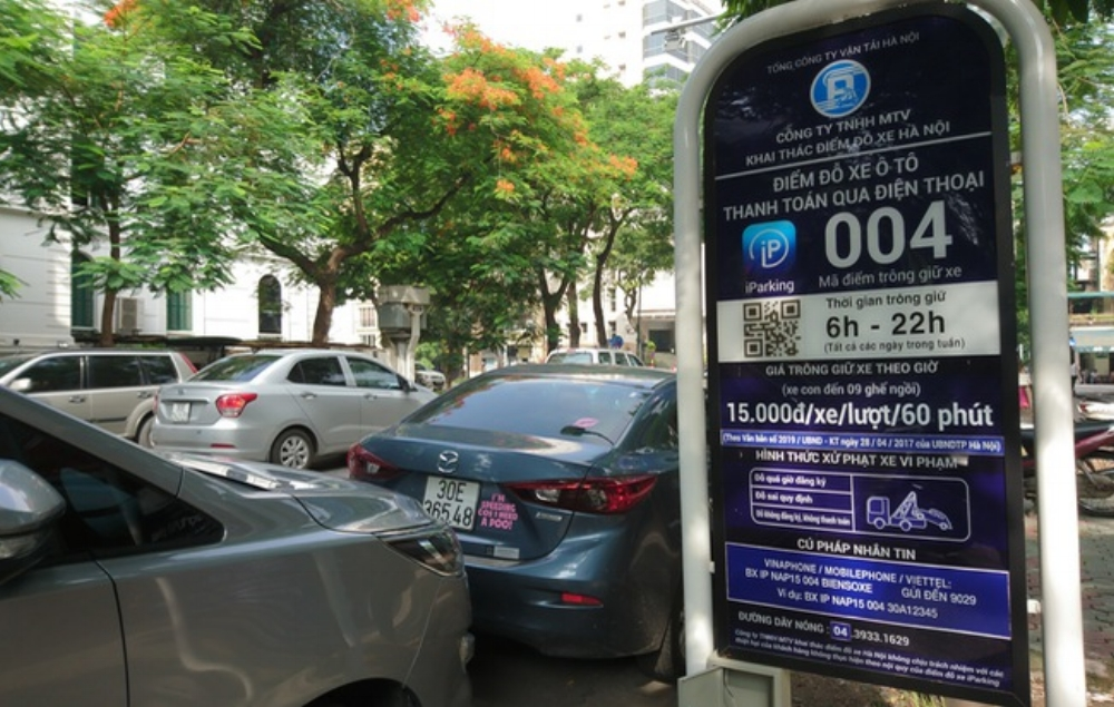 Hà Nội là thành phố thứ 9 trên thế giới ứng dụng iParking -