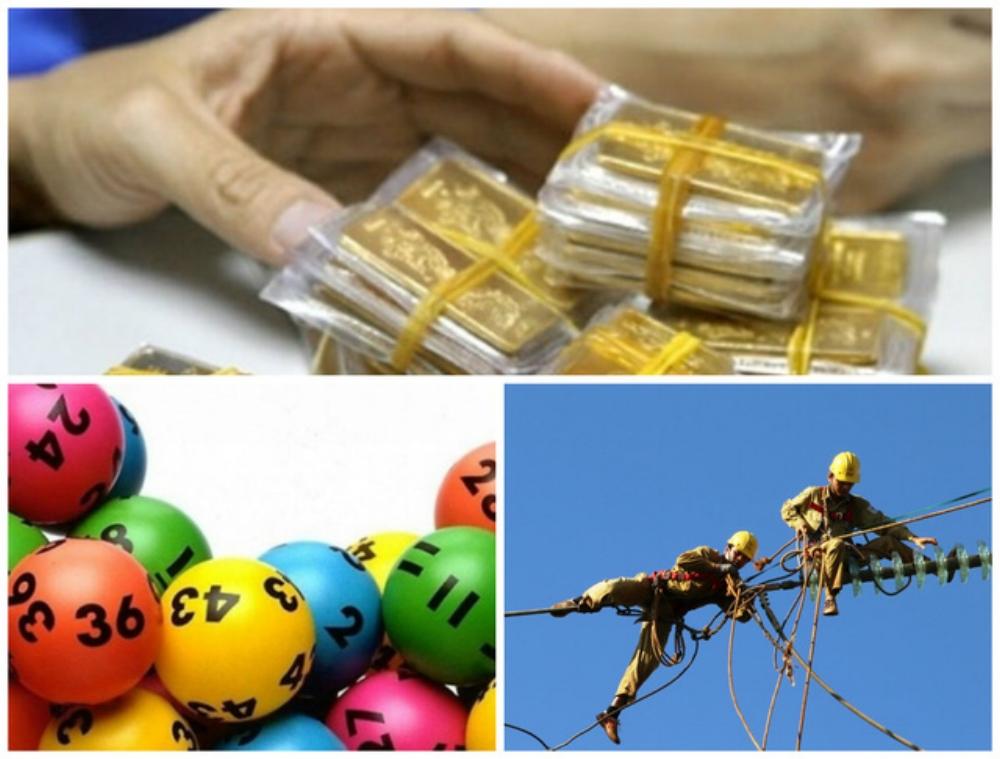 Nhà nước độc quyền sản xuất, kinh doanh vàng miếng, phát hành xổ số kiến thiết...