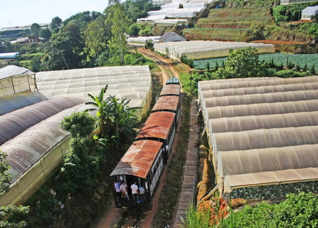 Hiện chỉ còn 7 km Đà Lạt - Trại Mát còn được sử dụng với mục đích phục vụ khách du lịch.