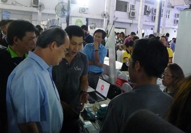 Ông Nguyễn Thiện Nhân, Bí thư Thành ủy TP.HCM giao lưu với cộng đồng khởi nghiệp