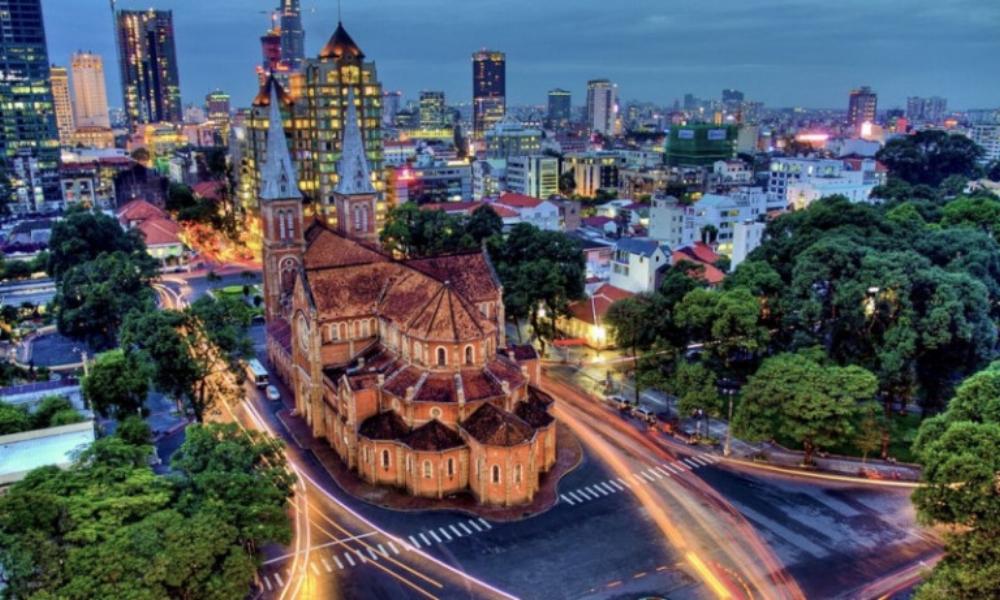 TP.HCM đã nhìn nhận việc xây dựng thành phố thông minh để giải quyết các vấn đề bức xúc của đô thị như giao thông, y tế, giáo dục… là một nhu cầu cấp thiết. ảnh minh hoạ: AFP