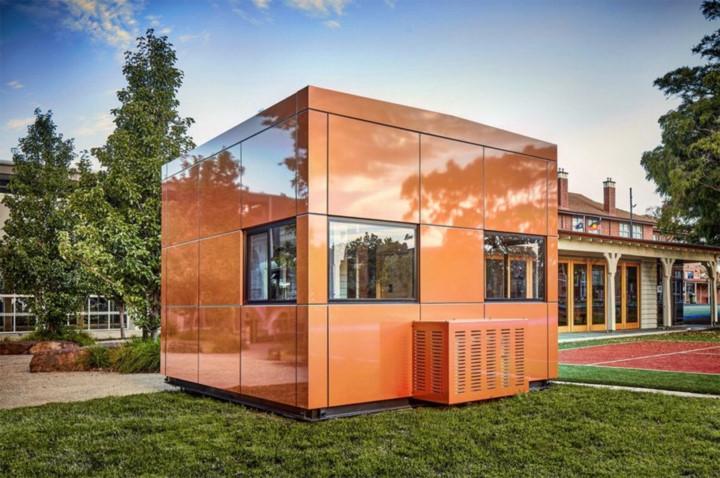 Harwyn Pod: Là không gian nhỏ để làm việc, cấu trúc được thiết kế đề làm văn phòng, không gian triển lãm hay phòng tập Yoga. Thiết kế với cảm hứng từ xe hơi, diện tích 2,5x2 m2, mỗi căn hộ đều được cách điện hoàn toàn, tránh cấc yếu tố tác động từ môi tường bên ngoài.