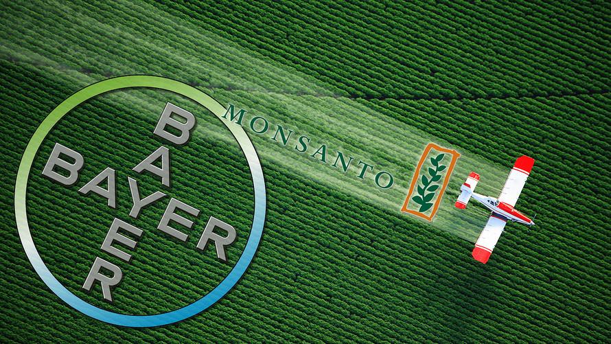 - Lợi ích hàng năm của công ty thuốc trừ sâu Monsanto trong năm 2016 đạt chạm mức thấp nhất trong vòng sáu năm qua. Năm ngoái, Monsanto đã phải thỏa thuận sáp nhập với Bayer AG để thành lập công ty hạt giống và thuốc trừ sâu lớn nhất thế giới.