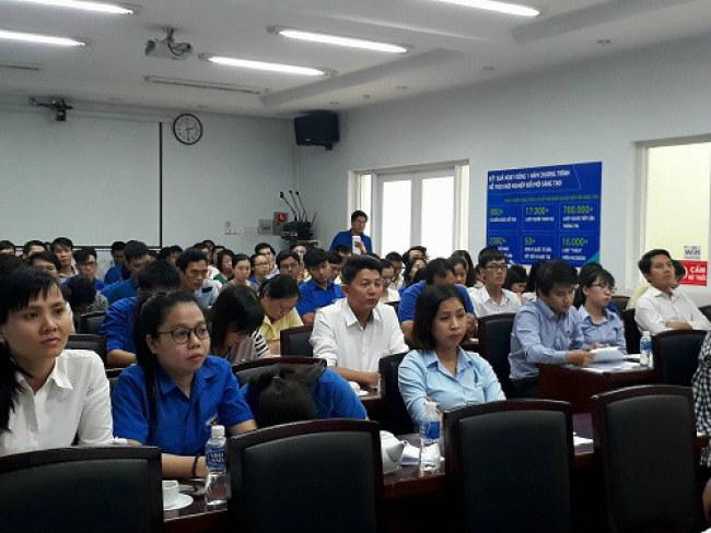 ội thảo thu hút đông đảo đại diện các cơ quan chuyên môn, đơn vị sự nghiệp của Sở Khoa học và Công nghệ TP.HCM tham gia. Ảnh: Hà Thế An.
