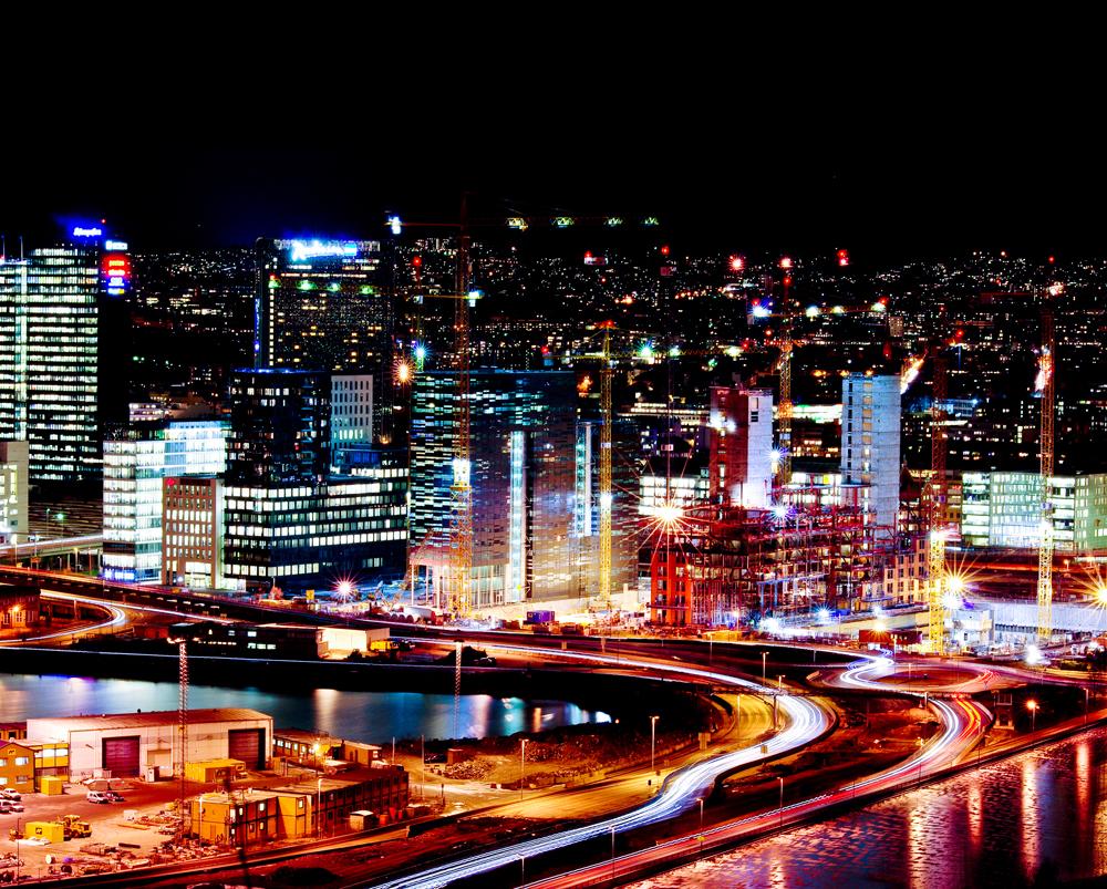 Hệ thống đèn LED thích ứng với thời tiết ở thành phố Oslo (Na Uy) -