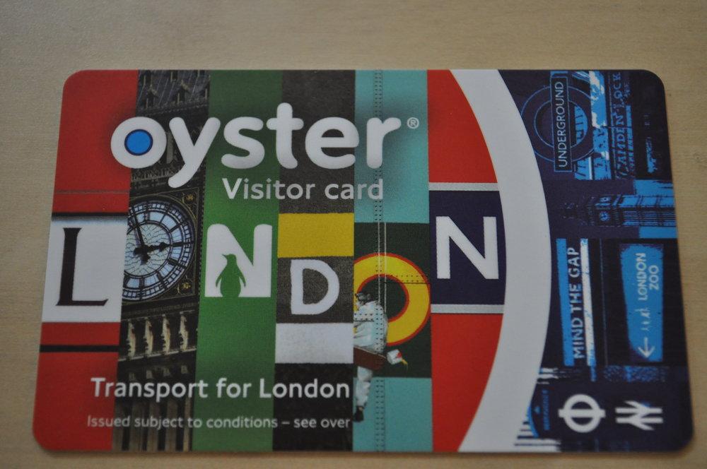 Thẻ đi tàu (Oyster Card) siêu tiện lợi ở London -
