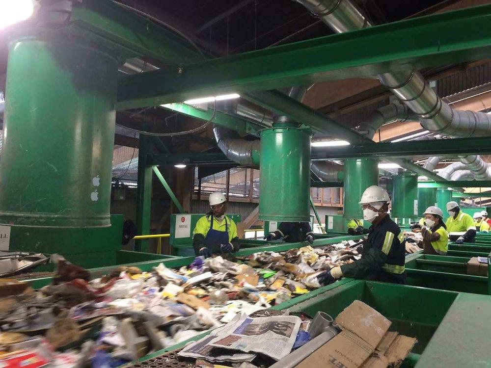 Trên 80% rác thải ở San Francisco được tái chế -