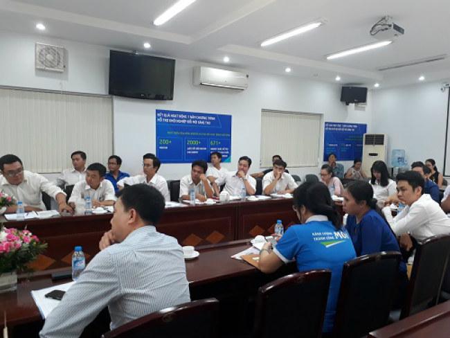 Hội thảo nhận được sự quan tâm của các đại diện cơ quan nhà nước, các doanh nghiệp. Ảnh: Hà Thế An.