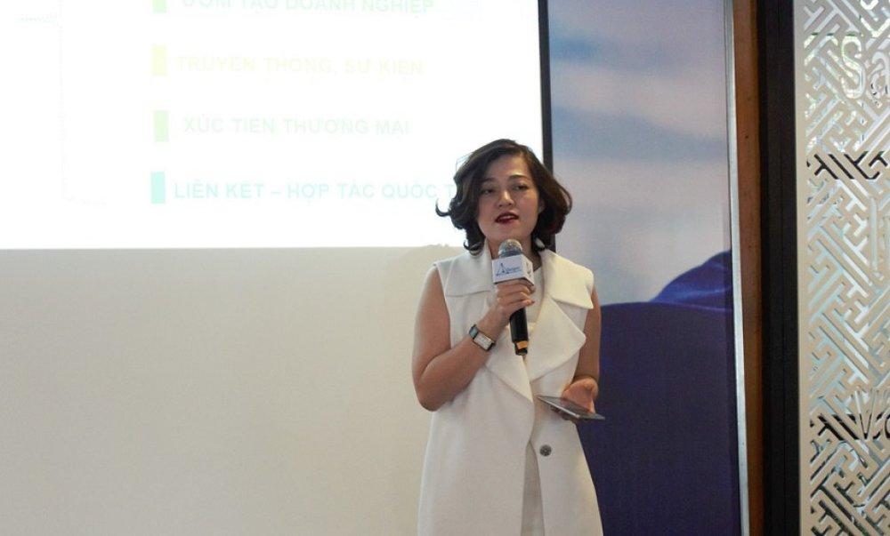 Bà Trương Lý Hoàng Phi đánh giá cao những dự án tham gia Startup Wheel