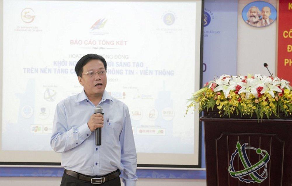 Ông Nguyễn Khắc Thanh phát biểu khai mạc tại lễ tổng kết