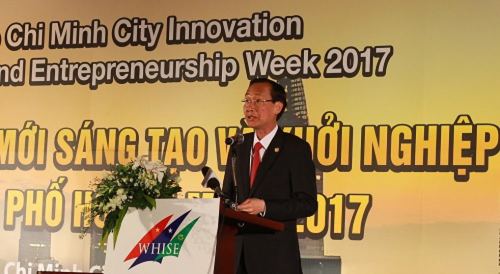 Phó Chủ tịch UBND TP.HCM Lê Thanh Liêm khẳng định khoa học - công nghệ, đổi mới sáng tạo và khởi nghiệp sẽ là nền tảng mô hình phát triển của thành phố