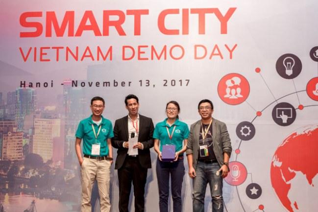 Đội duy nhất của Việt Nam đoạt giải trong cuộc thi.