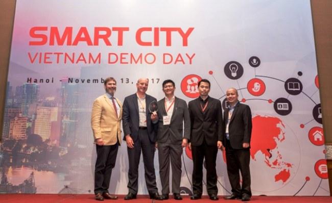 Đội GridComm đoạt giải nhất của cuộc thi.