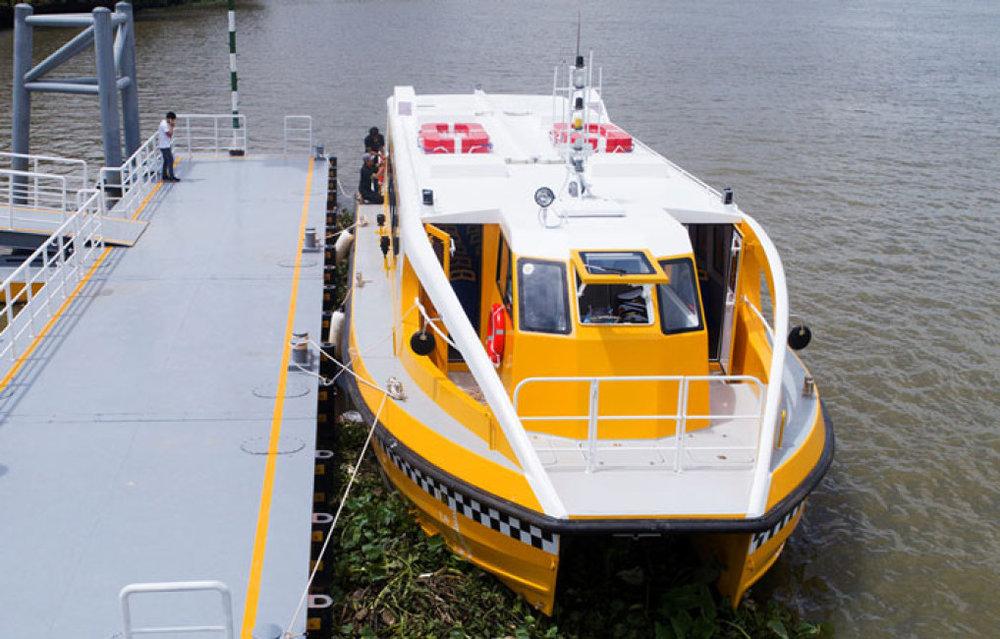 Trong 10 ngày đầu khai trương, buýt sông đầu tiên ở Sài Gòn sẽ miễn phí để người dân trải nghiệm