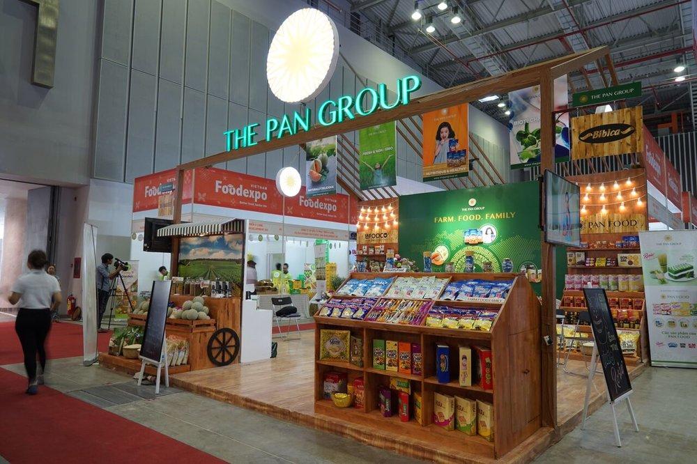 - PAN Group với các sản phẩm nông nghiệp xuất khẩu đi hơn 20 quốc gia trên thế giới và đang tiếp tục đầu tư hơn 2.000 tỷ đồng vào nông nghiệp thông qua các thương vụ M&A.