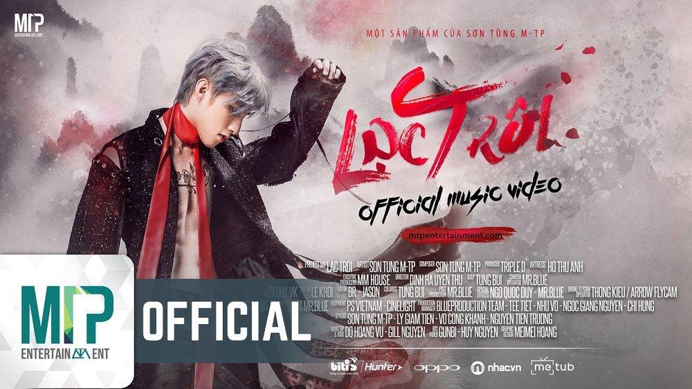 4. Lạc trôi - Ca khúc của ca sĩ Sơn Tùng M-TP đã đạt 100 triệu lượt xem sau 61 ngày ra mắt và trở thành một trong những MV được xem nhiều nhất châu Á.