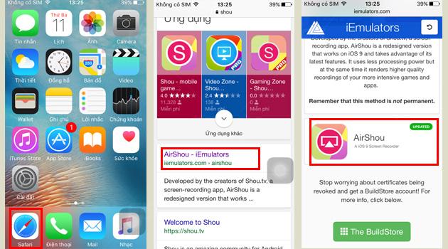 5. Ứng Dụng Quay Màn Hình - Ứng dụng có khả năng quay lại hoạt động trên màn hình điện thoại.
