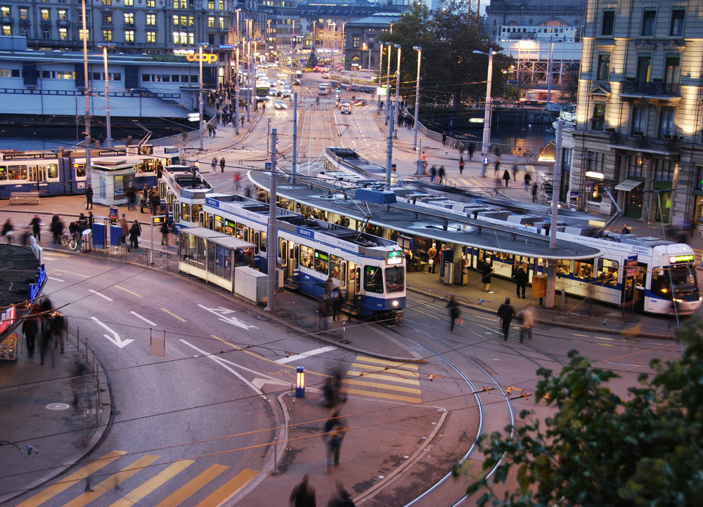 - Zurich, thành phố của Thụy Sĩ là một trong những đô thị đầu tiên áp dụng biện pháp này.