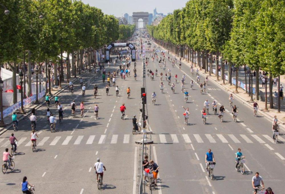 - Kết quả là thành phố thu được quỹ đất cực lớn để mở rộng quảng trường, cây xanh, đường xe đạp và vỉa hè cho người đi bộ.
