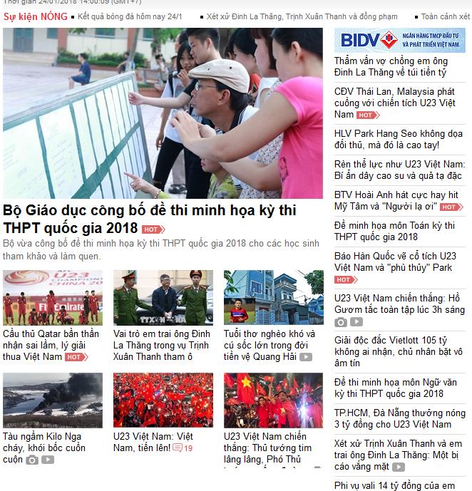 Vietnamnet.vn - 10/20 bài mới về U23