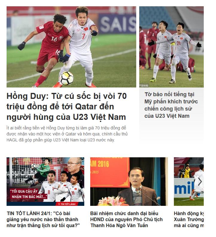 Soha.vn - 10/13 bài mới về U23