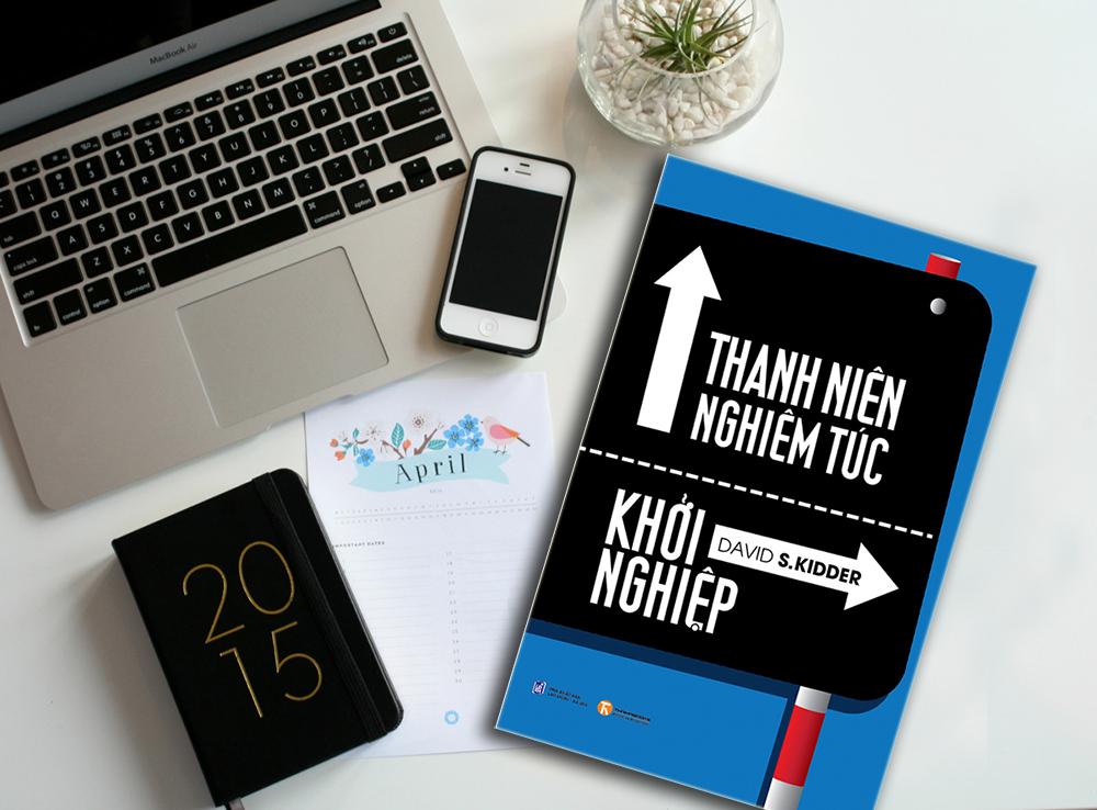 Thanh niên nghiêm túc khởi nghiệp, tác giả David S. Kidder -