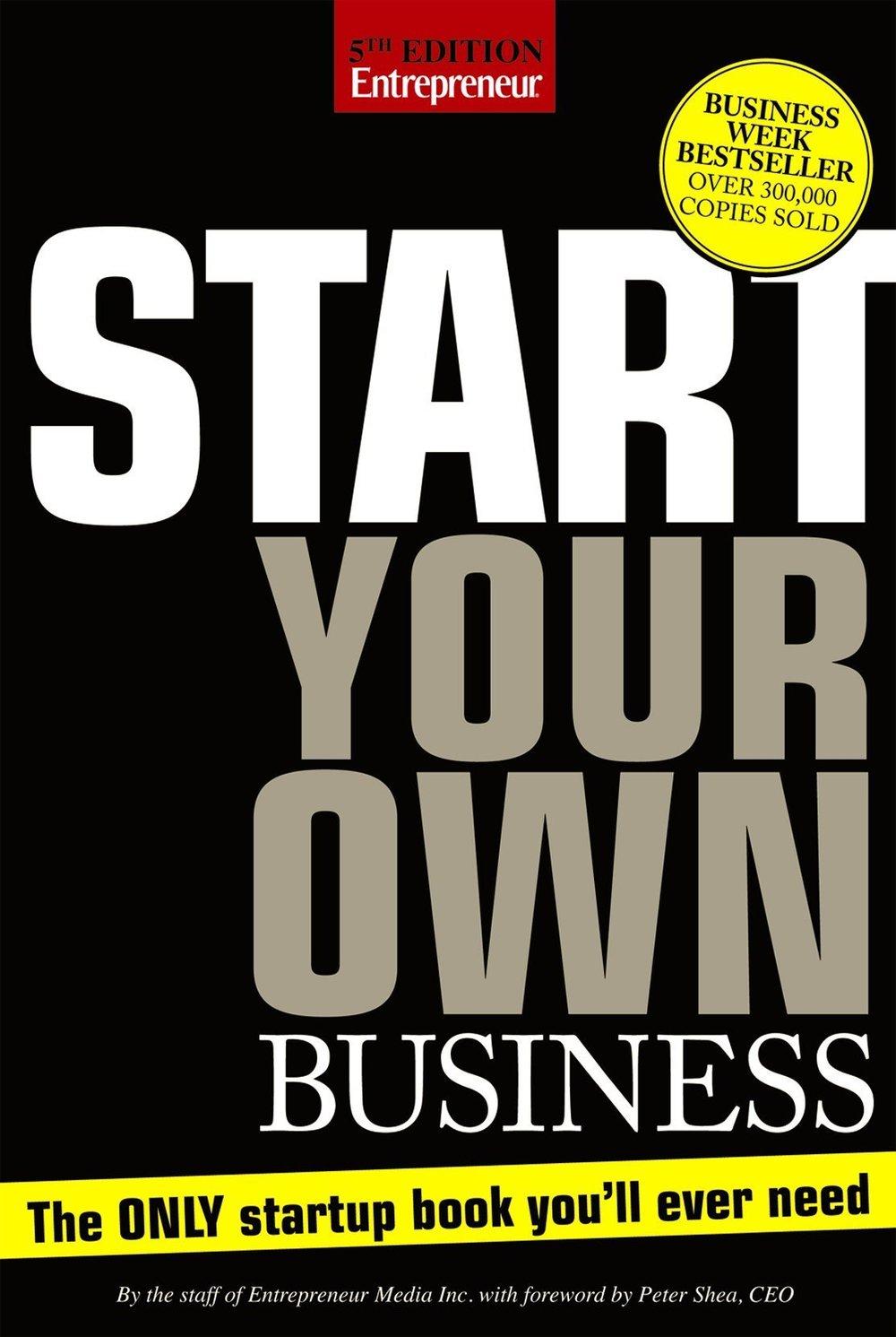Bắt tay vào khởi nghiệp (Start your own business)- tác giả Rieva Leonsky -