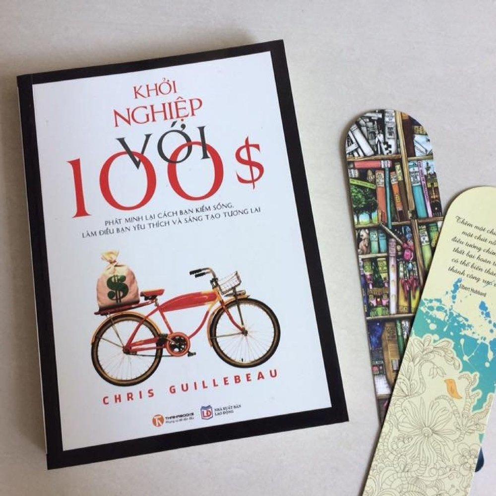 Khởi nghiệp với 100$, tác giả Chris Guillebeau -