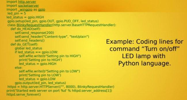 Lập trình bật tắt đèn LED bằng ngôn ngữ Python