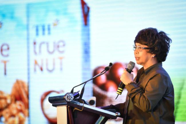 Bà Thái Hương phát biểu tại Hội thảo.