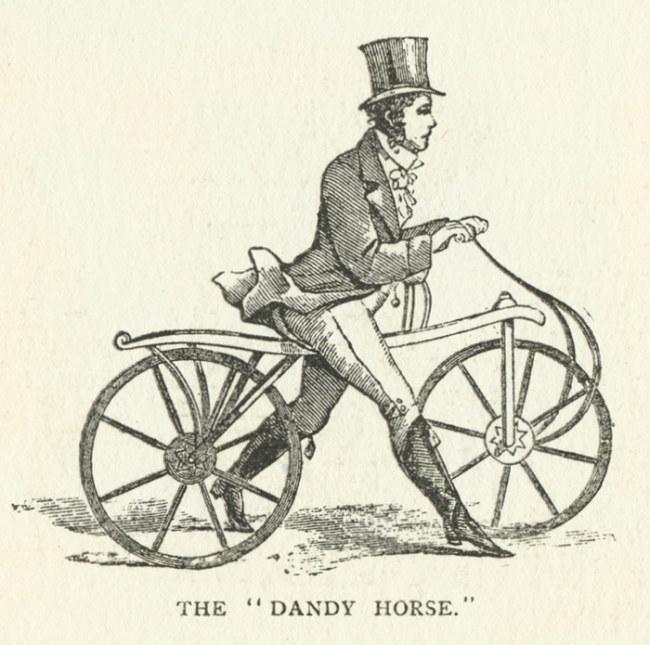 """Xe đi bộ là """"ông tổ"""" của chiếc xe đạp ngày nay"""