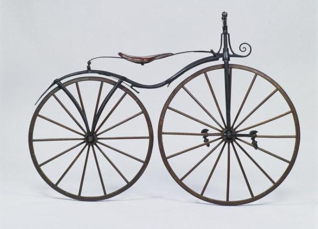 Phát minh mới: bàn đạp gắn trên bánh xe trước