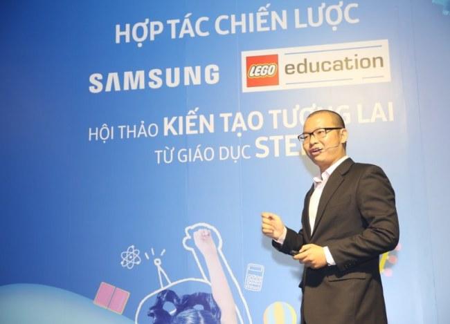 Ông Lê Đình Hiếu,Giám đốc Chương trình tìm kiếm tài năng trẻ Talent Hub của Trung tâm văn hóa giáo dục UNESCO.