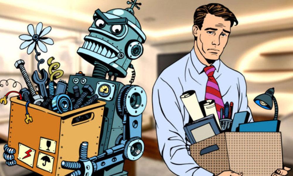 Nghiên cứu của McKinsey chỉ ra rằng, đến năm 2030 sẽ có 800 triệu việc làm bị thay thế hoàn toàn bởi robot. Nguồn ảnh: makeuseof.com