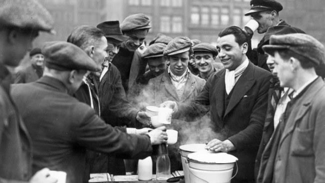 Gói trà được sử dụng rộng rãi trong Chiến tranh thế giới thứ nhất - Ảnh: Getty Images