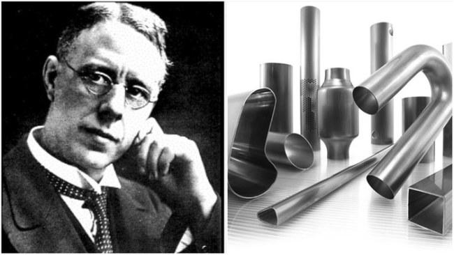 Harry Brearley và phát minh thép không gỉ - Ảnh: Getty Images