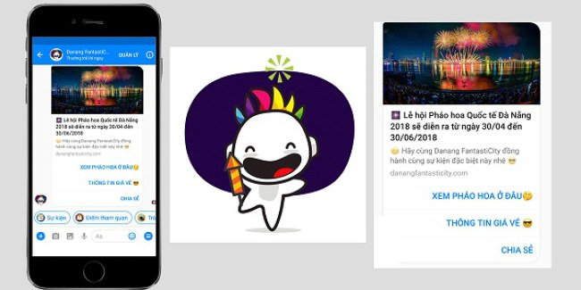 Chatbot nắm bắt nhiều sự kiện đặc sắc. Ảnh: Chụp màn hình.