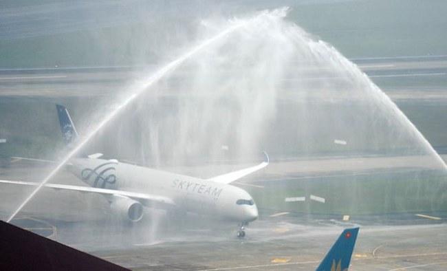 Chiếc A350-900 thứ 12 của Vietnam Airlines được Airbus bàn giao hôm 13/4 vừa qua
