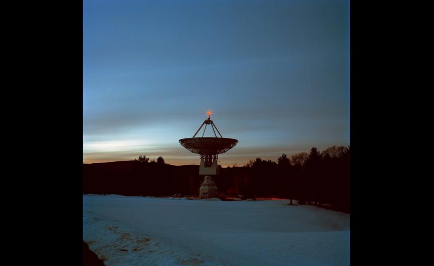 Đài thiên văn cao 13 mét tại Green Bank
