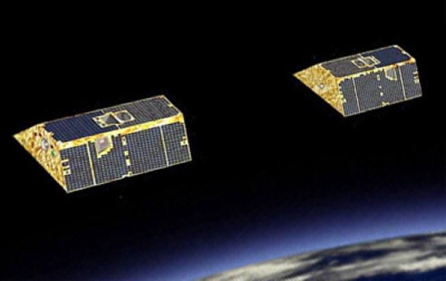 Cặp vệ tinh GRACE-FO sẽ thực hiện khảo sát mực nước biển Trái Đất. Ảnh: SpaceX.