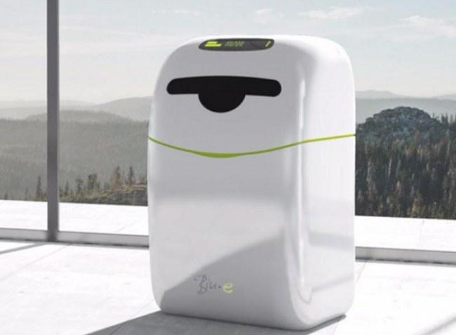 Thùng rác Bin.E sử dụng trí tuệ nhân tạo giúp phân loại rác ngay từ khi bỏ rác vào thùng. Ảnh: Bin.E.