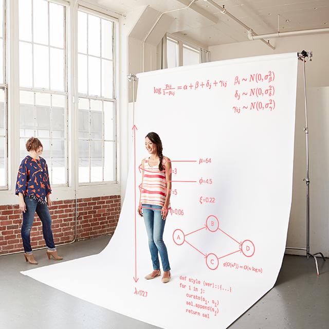 """- """"Nếu như thời trang công nghệ tỏ ra hiệu quả thì tôi nghĩ khách hàng cũng chẳng quan trọng việc máy móc thiết kế hay đề xuất trang phục họ đang mặc.""""."""