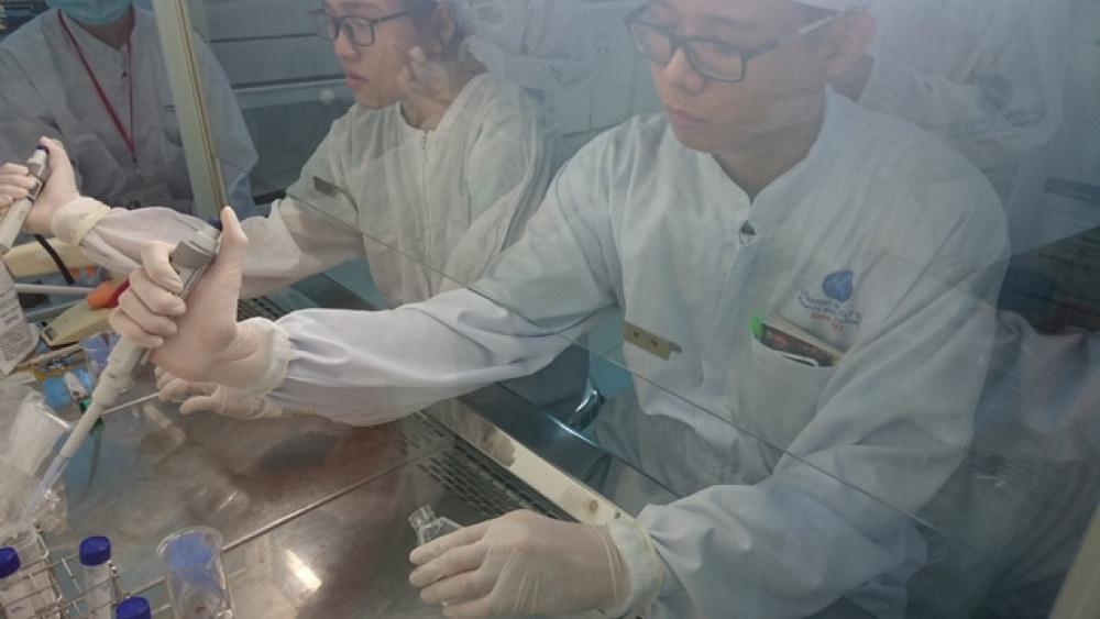Không gian nghiên cứu tại Viện Tế bào gốc - Ảnh:vinastemcelllab