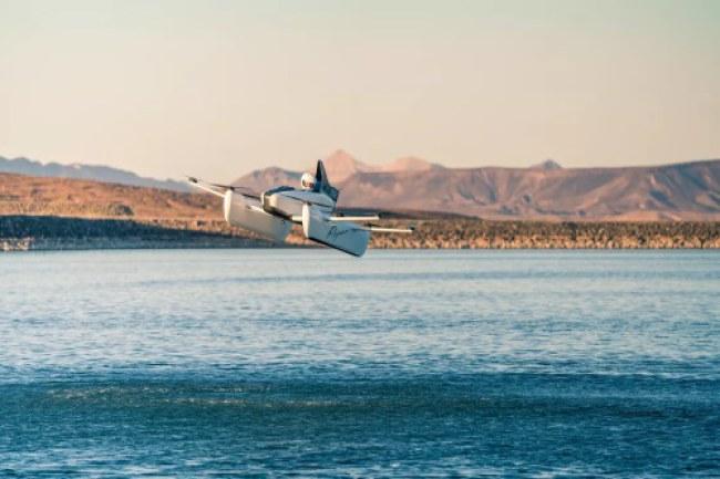 Xe bay Flyer có 10 cánh của công ty Kitty Hawk vừa được ra mắt ở Mỹ. Ảnh: Kitty Hawk.