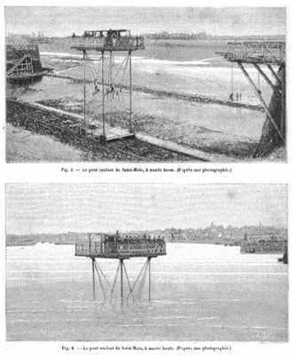 Cầu Cuốn:  Cầu cuốn là một phát minh của Anh trong thời kỳ nữ hoàng Victoria. Sáng chế này hy vọng thay thế những cây cầu truyền thống. Tuy nhiên, trong một thời gian rất dài, không ai sử dụng phát minh này vì nó có vẻ thiếu thực tế.