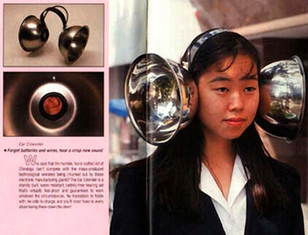 Thiết bị hỗ trợ tai:  Các nhà sáng chế Nhật Bản cho rằng phát minh này có thể tăng cường phạm vi nghe cho người đội nó.