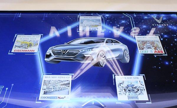 Mục tiêu của VinFast là cho ra đời hàng loạt các dòng sản phẩm như xe  máy điện, xe con 5 chỗ cao cấp, xe SUV cao cấp, xe con cỡ nhỏ, xe ô tô  điện, xe bus điện và nhiều sản phẩm khác để phục vụ nhu cầu đi lại của  người dân Việt Nam. Ảnh: Trọng Đạt