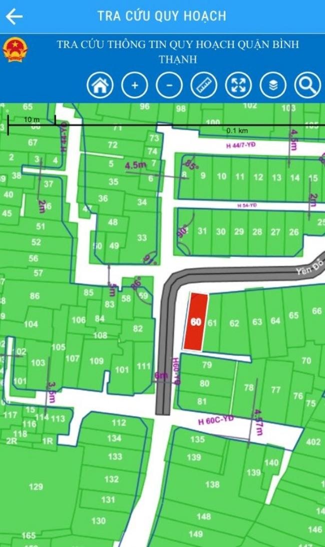 Bản đồ Quy hoạch Quận Bình Thạnh