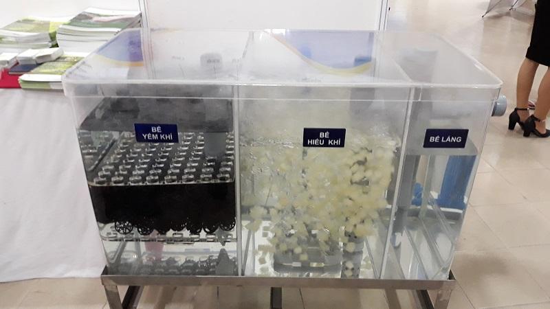 Công ty TNHH Giải pháp môi trường Đại Nam đem tới triển lãm giai pháp xử lý nước thải không qua bể tự hoại, không tạo bùn